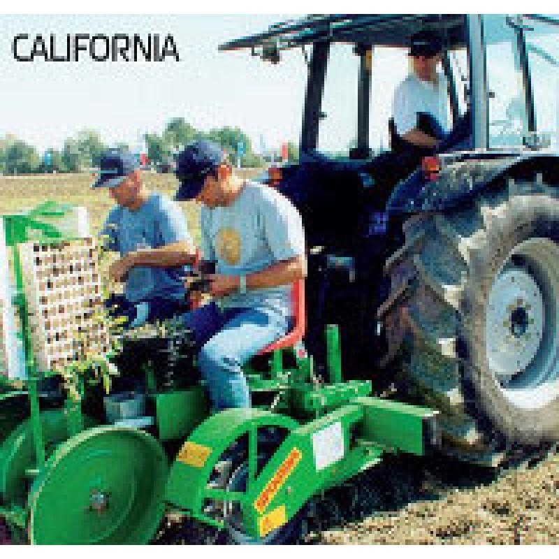 Полуавтоматические рассадопосадочные машины Sfoggia Italia, California, Florida