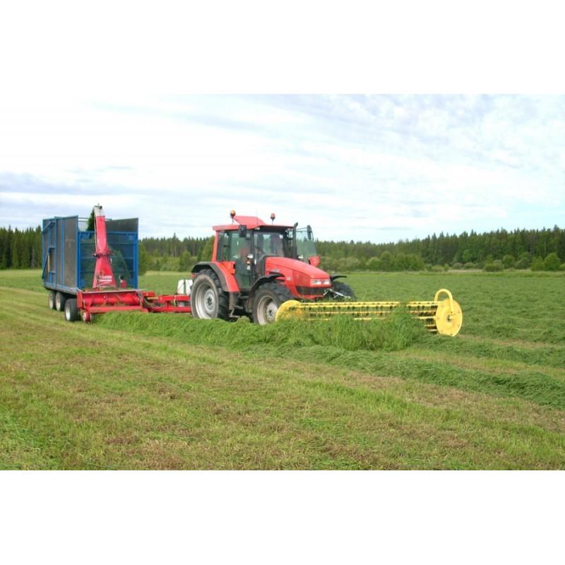 Фронтальные валкообразователи серии «Twin 4600» (шириной захвата до 4,6 м) (ELHO, Финляндия)