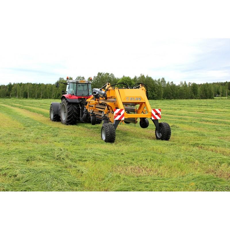Прицепные валкообразователи серии «V-Twin 950 Super» (шириной захвата до 9,5 м) (ELHO, Финляндия)