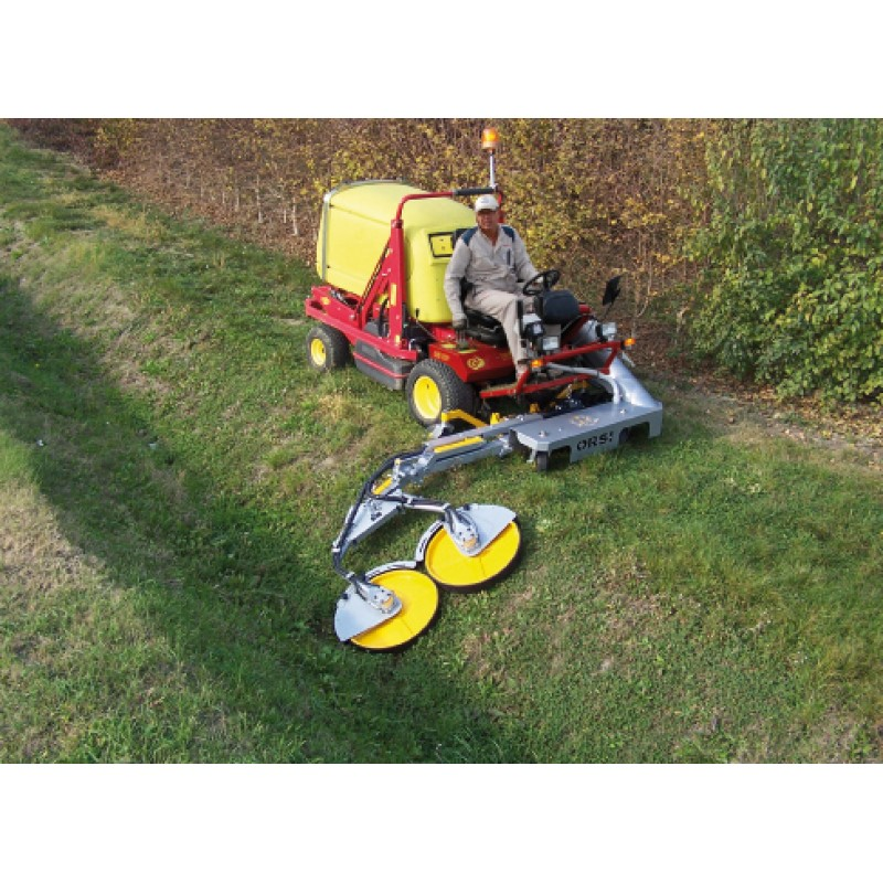 Машина для скоса травы вокруг стволов деревьев ZIG-ZAG 350 (ORSI, Италия)